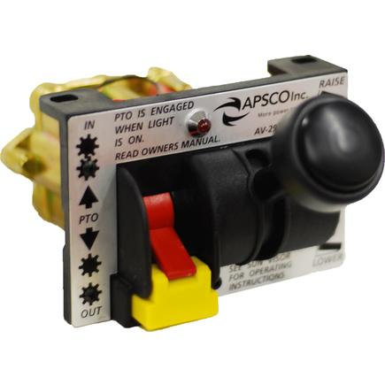 AV-295 by APSCO - Power Take Off/Hoist Control Valve with Auto Out