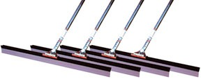 "49530C4 by BRUSKE PRODUCTS - Pack of 4 30"" Squeegee with Handle"