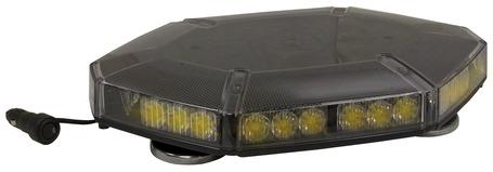 8891100 by BUYERS PRODUCTS - Lightbar, Mini, LED, Amber, Magnetic Mount, Hexagonal
