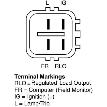 Delco Remy 12821 on denso voltage regulator