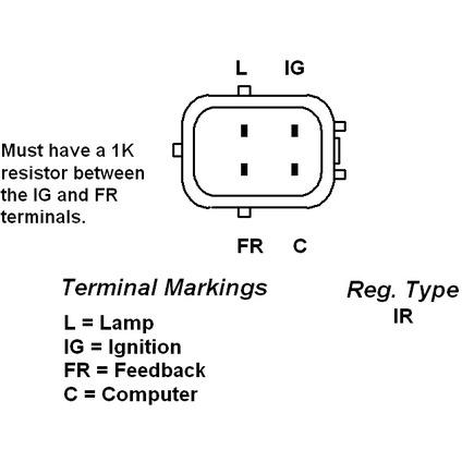 denso alternator voltage regulator datsun alternator voltage regulator wiring diagram odicis org