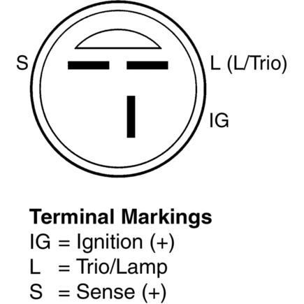 820728 delco remy alternator with internal regulator delco find image,Delco Internal Regulator Alternator Wiring Diagram