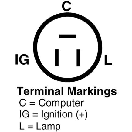 827086 delco remy alternator with internal regulator delco find image,Delco Internal Regulator Alternator Wiring Diagram