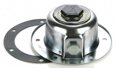 National Axle Hub Cap W Seal Amp Gasket New Chrome Hwf009a