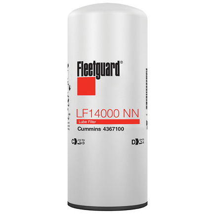 LF14000NN by FLEETGUARD - FILTER LUBE OIL