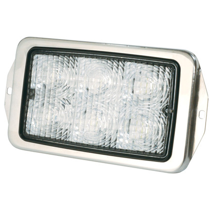 63610 by GROTE - Trilliant® Mini Flush Mount LED WhiteLight™ Work Lamp, 700 Lumens, Flood