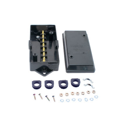 BE22010 by HALDEX - 7-Terminal Style Junction Box