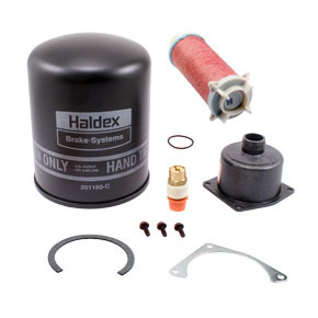 DQ-6026 by HALDEX - General Service Kit for Pure Air Plus