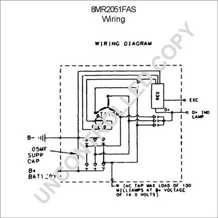 8mr2051fas by leece neville high output alternator