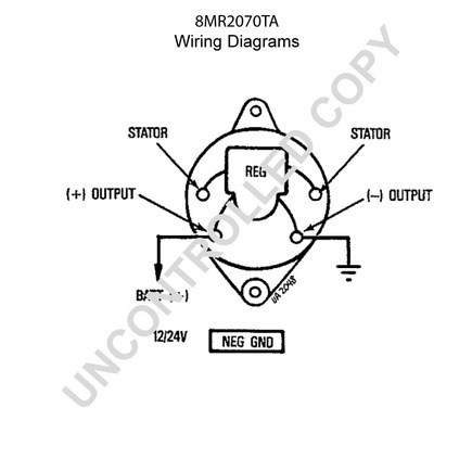 Leece Neville 8mr2070ta on wiring diagram for a ups system