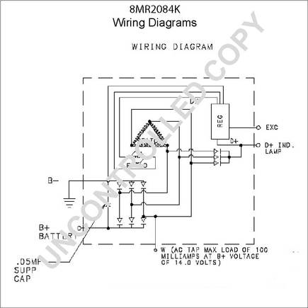 Wiring Diagram For A Gm 3 Wire Alternator