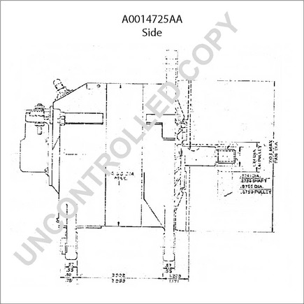 alternator bolt size water pump size wiring diagram