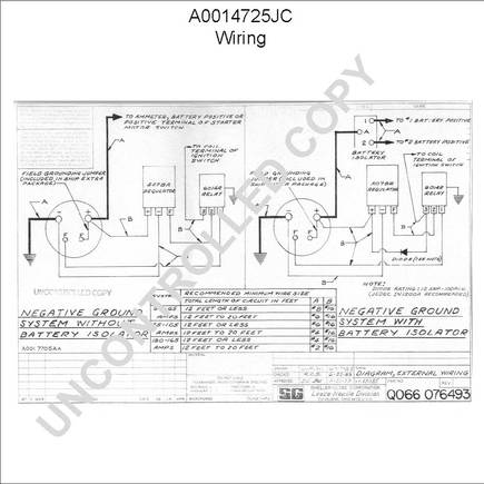 Wiring Diagrams International 1586 Tractor further 6 Volt Positive Ground Regulator Wiring Diagram as well Leece Neville A0014417aa together with 5 Way Rv Wiring Diagram also Leece Neville A0014725jc. on international 4700 s