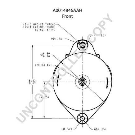 Leece Neville A0014846aah on wiring diagram for a ups system