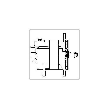 10dn Alternator Wiring Diagram together with Gm Cs130d Alternator Wiring Diagram besides 12si Alternator Wiring Diagram also Gm One Wire Diagram further Wiring A 12si Alternator. on delco 12si