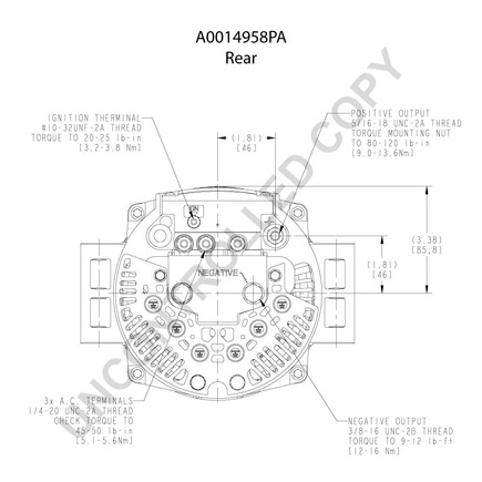 Leece Neville 8lha2057va in addition Leece Neville 8ar3080fa as well Grote 43642 also Leece Neville A0014944pa furthermore 2011 Gmc Acadia Anti Theft Fuse. on international truck air conditioning diagram