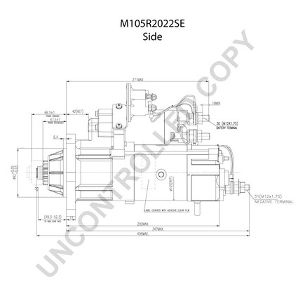 Leece Neville M105r2022se also Leece Neville M105r2022se likewise  on m105 trailer wiring diagram