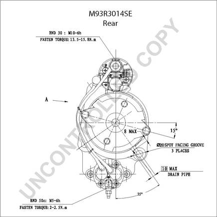 Starter further Chevrolet Trailblazer 2002 Chevy Trailblazer How To Replace The Ecm Pcm as well 1002533 Serpentine Belt Routing additionally International Mower Deck Parts Diagram together with Metal Front Doors. on international truck starter