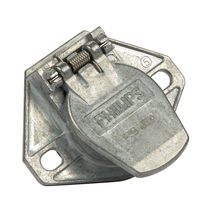 Phillips 7 Way Socket - By Phillips Industries Way Socket Hole Wire Insertion Split Pin - Phillips 7 Way Socket
