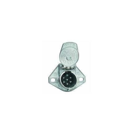 Phillips 7 Way Socket - By Phillips Industries Way Socket Hole Wire Insertion Solid Pin - Phillips 7 Way Socket